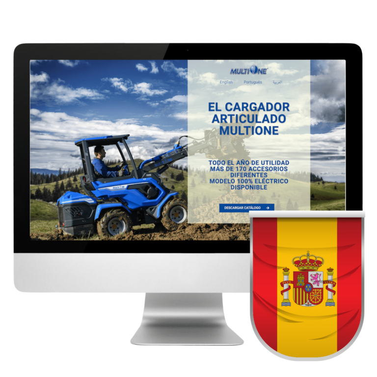 Spanish Landing Page Design