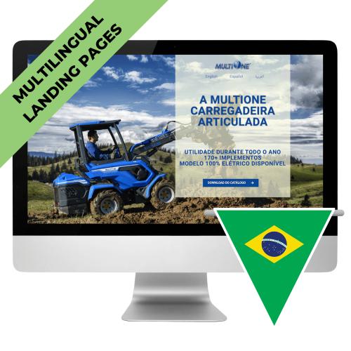 Multilingual Landing Page- PT